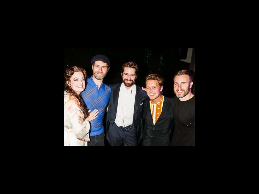 FInding Neverland - Backstage - 9/15 - Laura Michelle Kelly