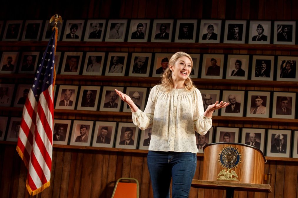 PS - Heidi Schreck - What the Constitution Means to Me - off-Broadway - New York Theatre Workshop - 10/2018 - Joan Marcus